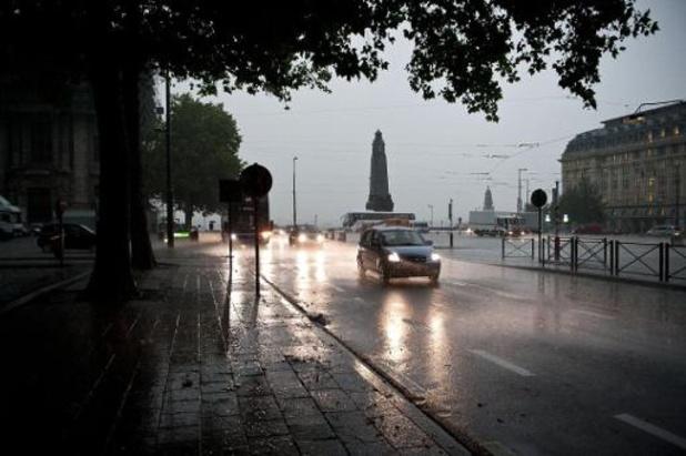 Un temps plus sec durant deux jours avant le retour de la pluie jeudi