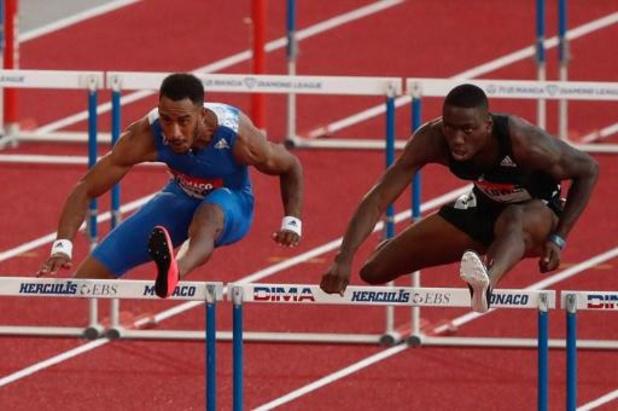 L'Américain Holloway bat le vieux record du monde de Colin Jackson sur 60m haies à Madrid