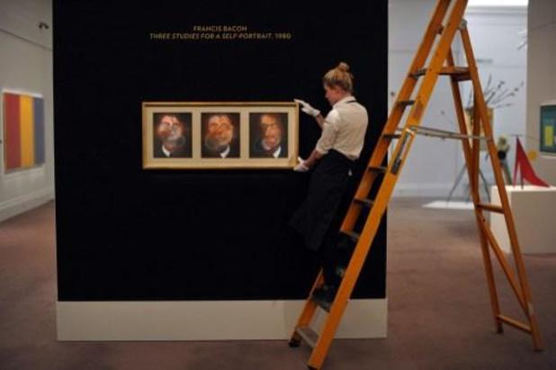 Vijfhonderd nagemaakte werken van Francis Bacon in beslag genomen in Italië