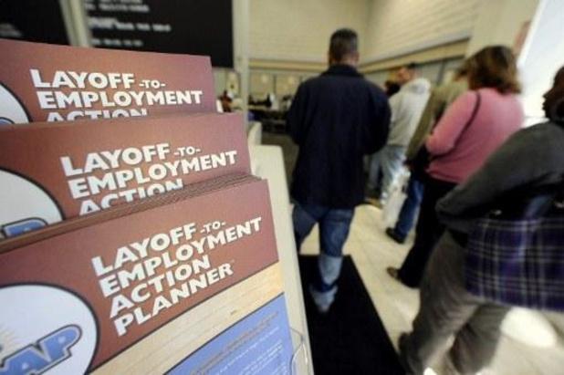 Aantal werkloosheidsaanvragen opnieuw sterk gestegen in de VS