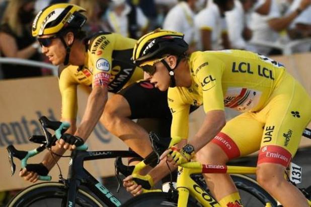 """Tour de France - Van Aert zesde in slotrit: """"Miste Grondahl Jansen"""""""