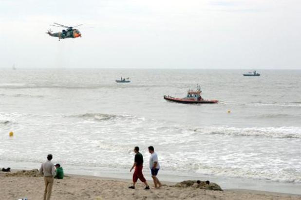 Grote zoekactie naar twee duikers aan Belgische kust