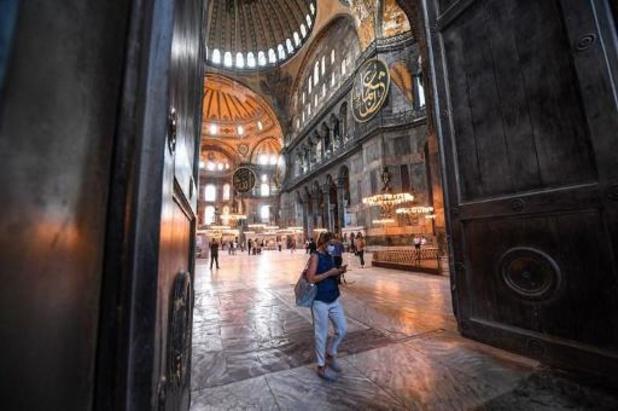 Erdogan annonce une 1ère prière musulmane à Sainte-Sophie le 24 juillet