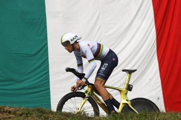 Giro: Wereldkampioen Filippo Ganna toont zich opnieuw beste tijdrijder