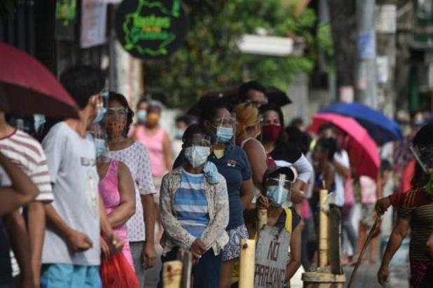 Strenge lockdown op Filipijnen met twee weken verlengd
