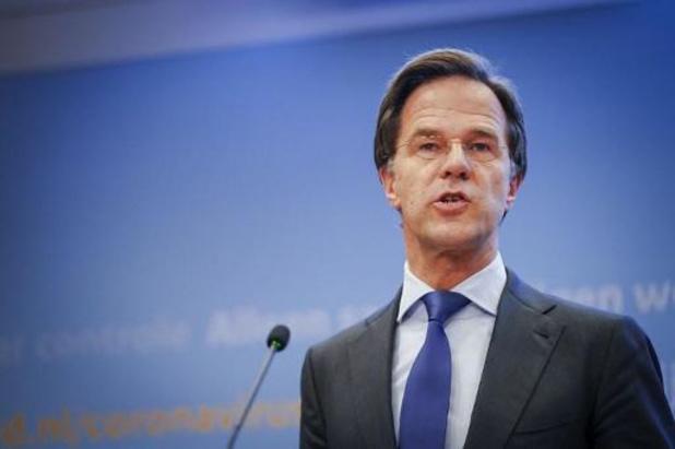 Nederlandse premier Rutte: tijd voor versoepeling