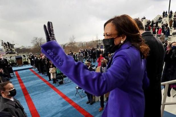 Kamala Harris ingezworen als vicepresident
