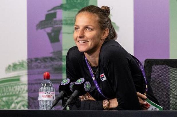 WTA Montréal - Pliskova écarte Sabalenka et s'offre la finale à Montréal