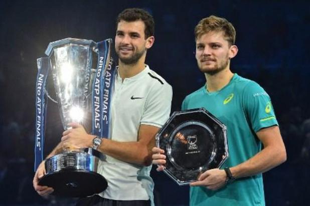 """Goffin préparera l'Open d'Australie avec Dimitrov : """"J'aime bien m'entraîner avec lui"""""""
