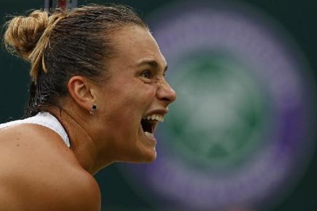 Aryna Sabalenka bat Ons Jabeur et passe en demi-finale