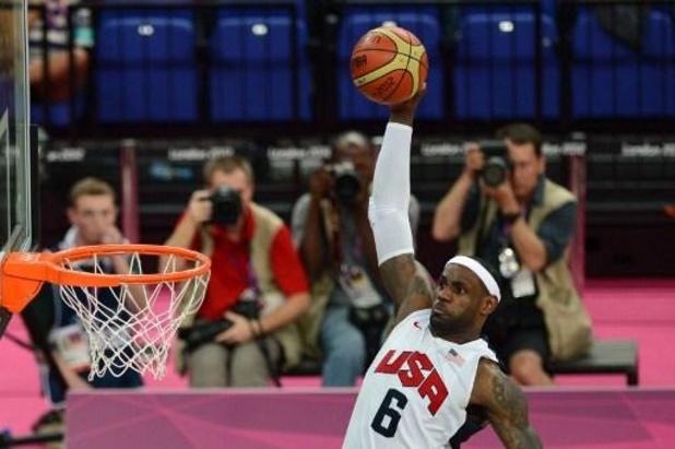 LeBron James renonce à disputer les Jeux Olympiques de Tokyo