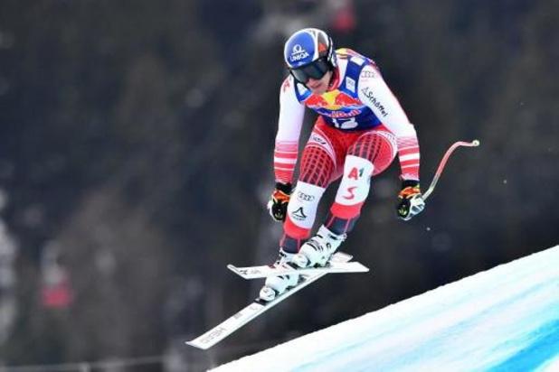 L'Autrichien Matthias Mayer remporte la mythique descente de Kitzbühel