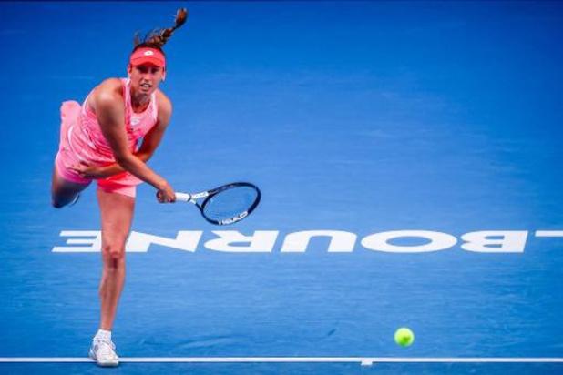 Open d'Australie: Elise Mertens en quarts de finale du double