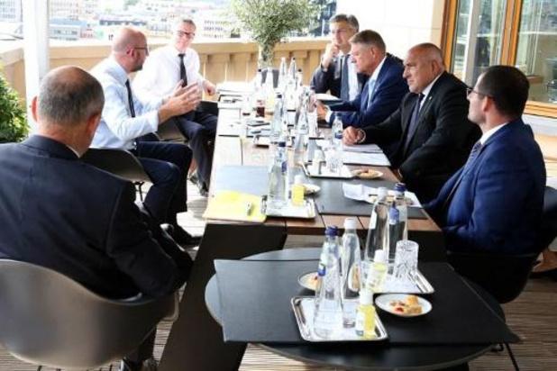 """Sommet européen - Charles Michel exhorte les dirigeants à l'""""unité"""""""