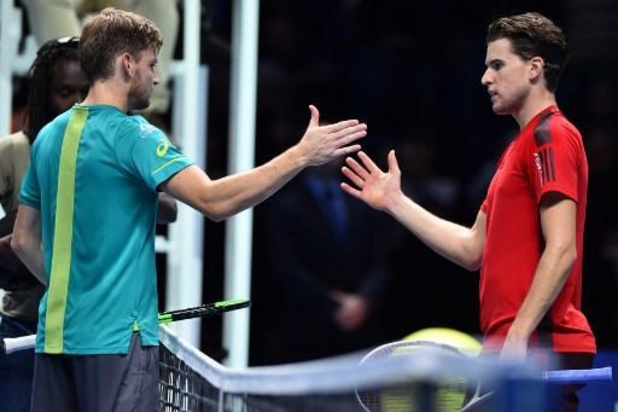 Ultimate Tennis Showdown - Goffin is niet opgewassen tegen Thiem