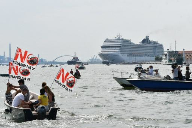 Coronavirus - Italie: Venise rouvre sa lagune aux croisières dans une ambiance polémique