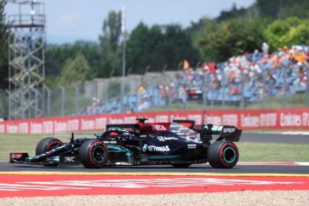 Lewis Hamilton le plus rapide de la 3e séance, juste devant Max Verstappen