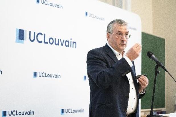 Prof d'un jour, P-Y Jeholet décrypte la crise du covid pour les étudiants de l'UCLouvain