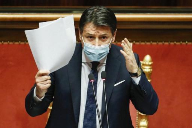 Conte kondigt morgen ontslag aan als premier