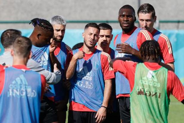 La Belgique ouvre son tournoi samedi à l'instar de la Suisse et du Danemark