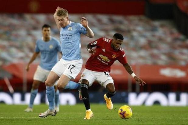Belgen in het buitenland - Geen winnaar in doelpuntenloze Manchester Derby