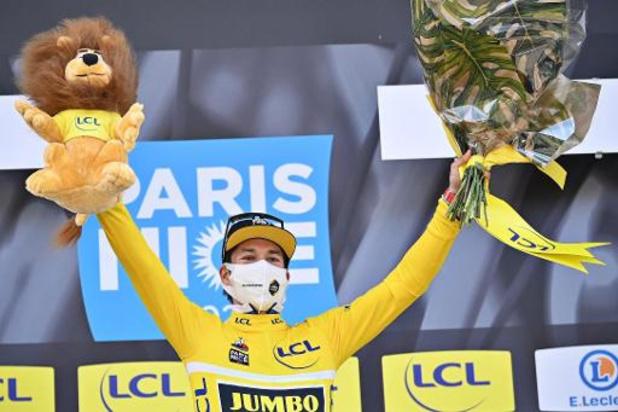 6e étape de Paris-Nice: le classement de l'étape