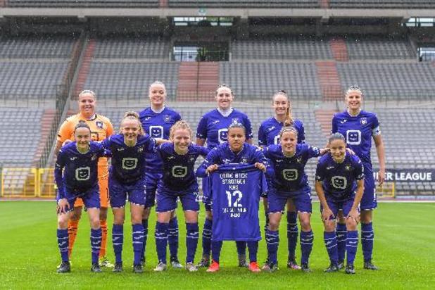 Ligue des champions (dames) - Anderlecht, vainqueur de Hayasa 3-0, jouera sa place au 2e tour préliminaire samedi