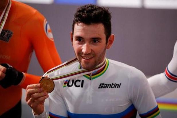 WK baanwielrennen - Benjamin Thomas pakt goud in omnium, Fabio Van Den Bossche 16e