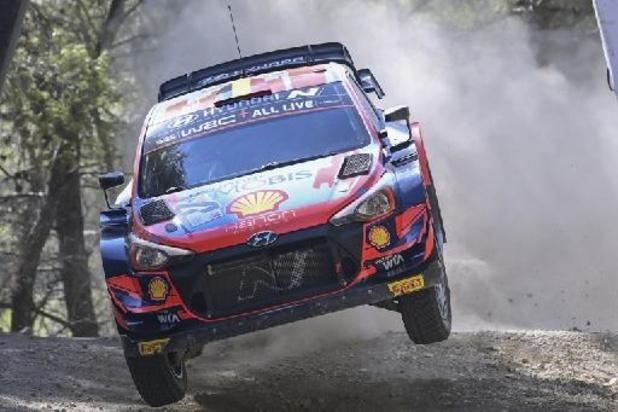 Rovanperä à 13 km de la victoire, Neuville de retour dans le top 10 du WRC en Grèce