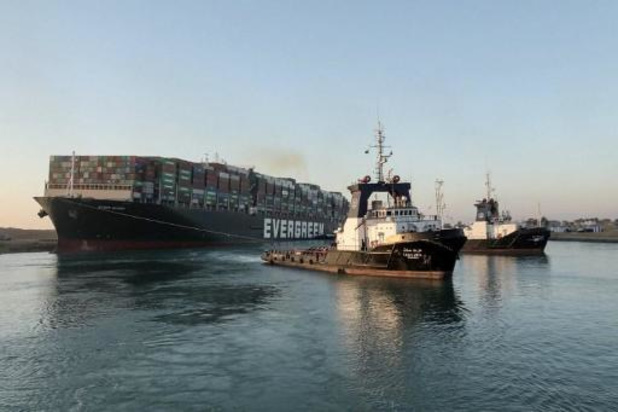 Antwerpse Zeevaartschool maakt simulatie van ongeval in Suezkanaal