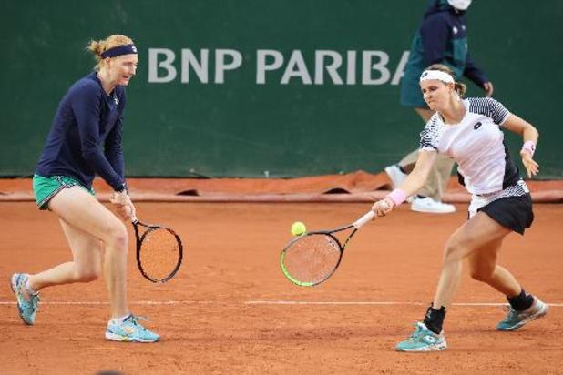 Minnen et Van Uytvanck seront accompagnées par Ann Devries à Roland-Garros