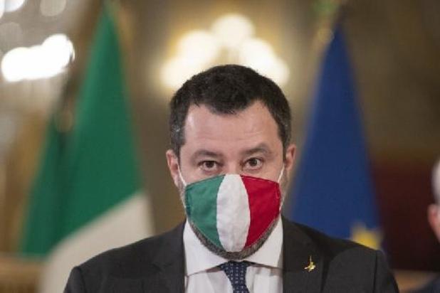 Migrants bloqués en mer: Salvini échappe à un deuxième procès