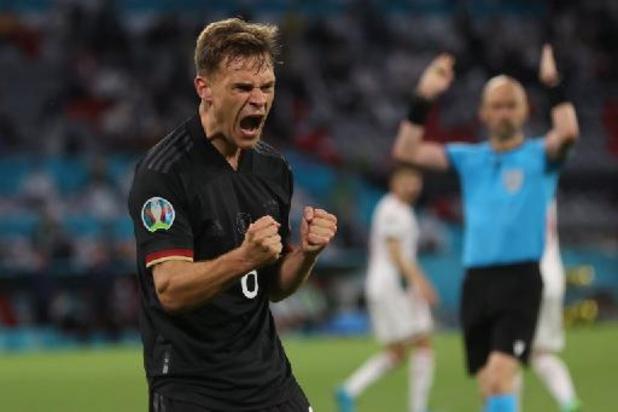 Euro 2020 - Joshua Kimmich élu Homme du Match d'Allemagne-Hongrie