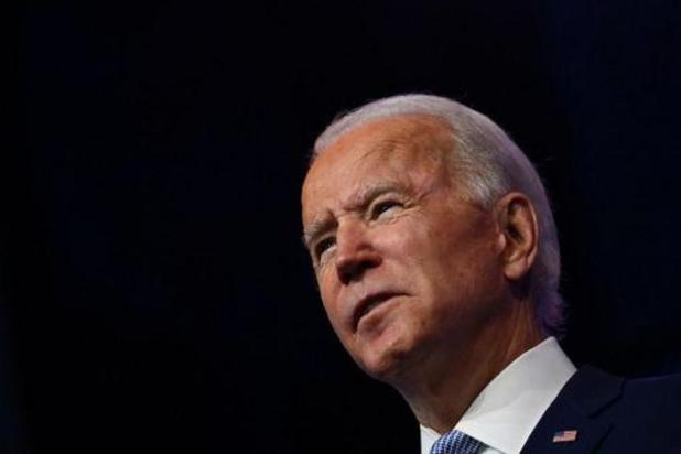 Joe Biden zegt klaar te zijn om de wereld te leiden