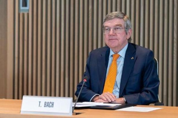 "Le président du CIO Thomas Bach demande ""de la patience"""