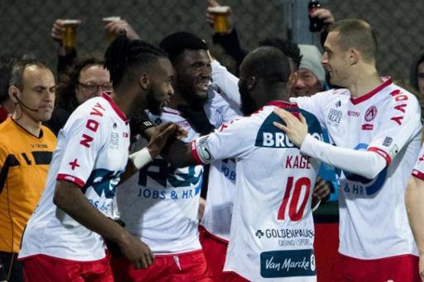 Jupiler Pro League - Le Club Bruges se fait remonter deux buts à Courtrai et partage