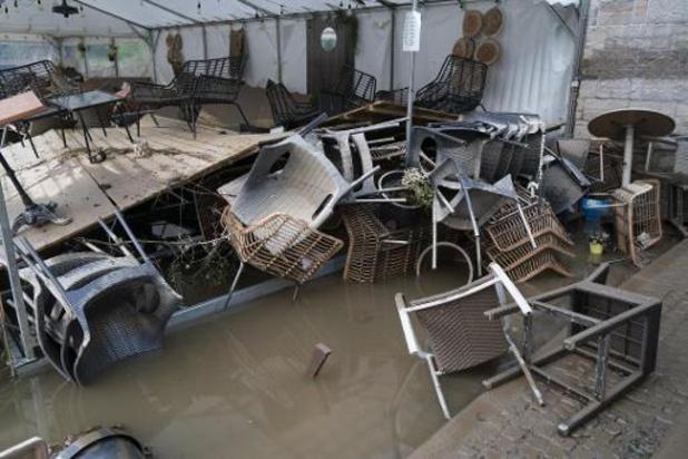 Noodweer - Nog 200 gezinnen zonder drinkbaar water in provincie Namen