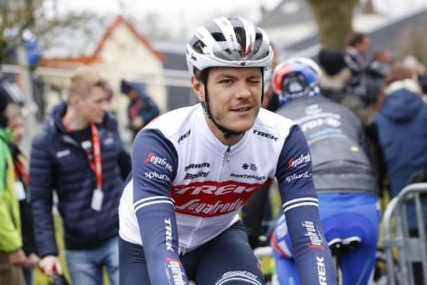Jasper Stuyven prolonge de deux ans son contrat chez Trek-Segafredo