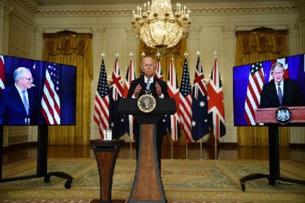 'AUKUS-akkoord kan niet los gezien worden van westers NAVO-debacle in Afghanistan'