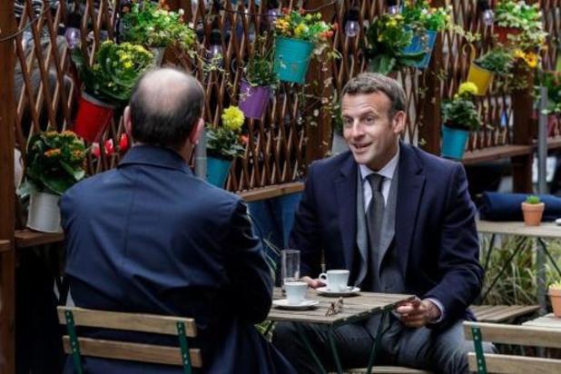 """Macron gaat binnenkort naar Rwanda om """"een nieuwe bladzijde te schrijven"""""""