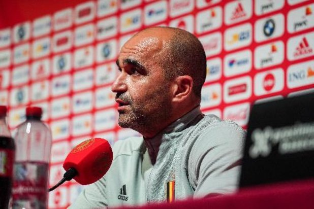 Bondscoach Martinez wil in Tsjechië lijn van zege tegen Wales doortrekken