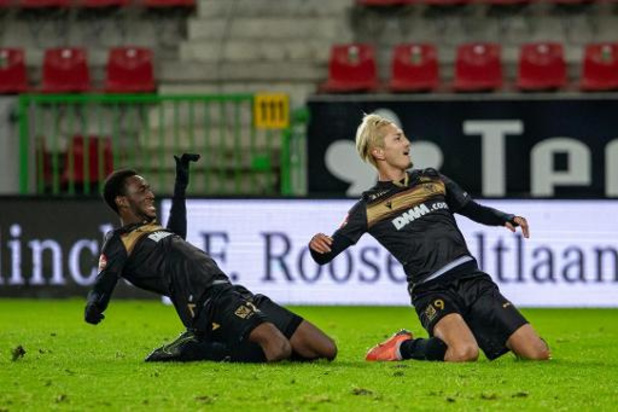Jupiler Pro League - Sint-Truiden komt met 0-2 zege in Waregem van laatste plaats weg