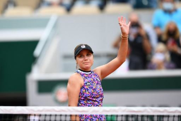 US Open - Sofia Kenin, 's werelds nummer vijf, zegt af na positieve coronatest