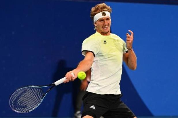 Alexander Zverev is vierde en laatste halvefinalist