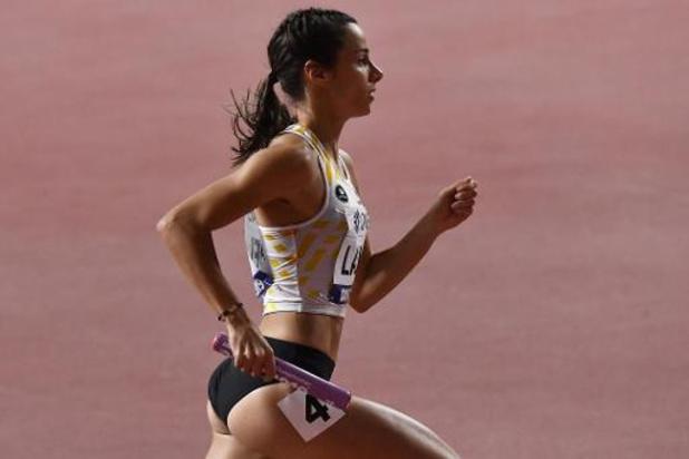 Mondiaux d'athlétisme - Les Belgian Cheetahs 6e du 4x400 m féminin, victoire des Etats-Unis