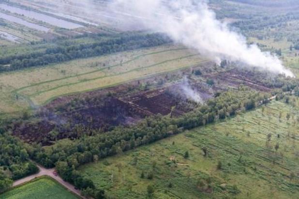 Grote branden in twee Nederlandse natuurgebieden