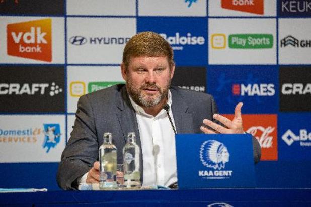 """AA Gent staat voor """"moeilijke opdracht"""", maar Vanhaezebrouck """"heeft er vertrouwen in"""""""