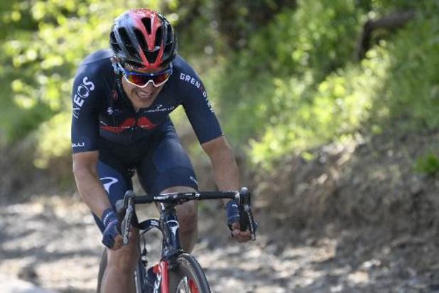 La 5e étape et le maillot jaune pour l'Equatorien Richard Carapaz