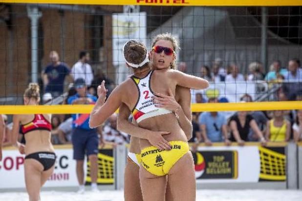 Championnats de Belgique de beachvolley - Koekelkoren et Van Walle sacrés chez les messieurs, Van den Vonder et Cools chez les dames