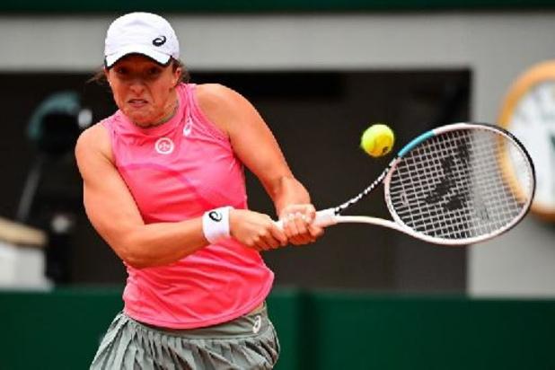 Roland-Garros - Iga Swiatek se hisse facilement en huitièmes de finale